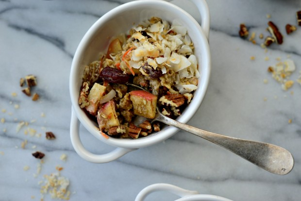 Apple, Carrot + Raisin Baked Oatmeal l SimplyScratch.com (24)