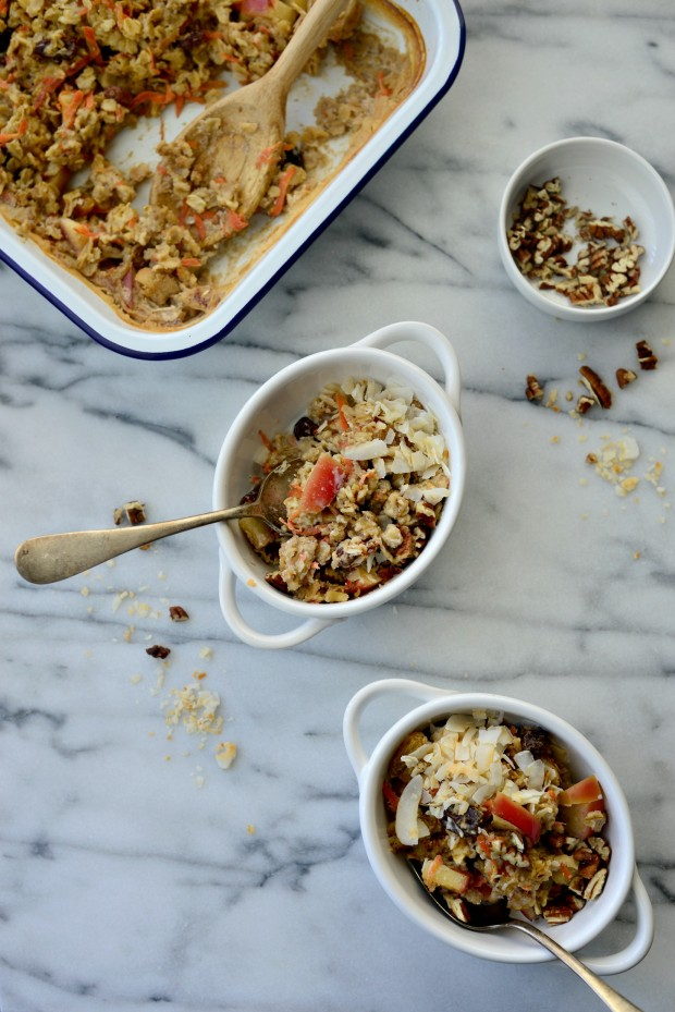 Apple, Carrot + Raisin Baked Oatmeal l SimplyScratch.com (26)