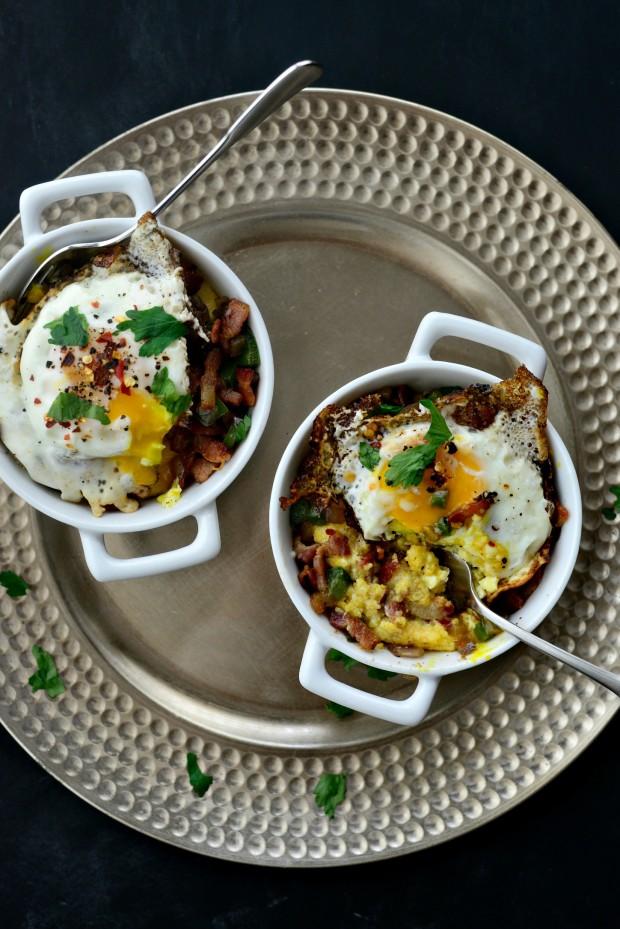 Breakfast Polenta Bowls l SimplyScratch.com (21)