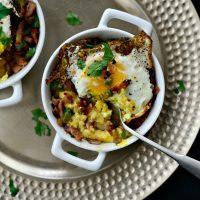 Breakfast Polenta Bowls