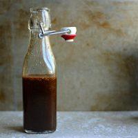 Homemade Worcestershire Sauce