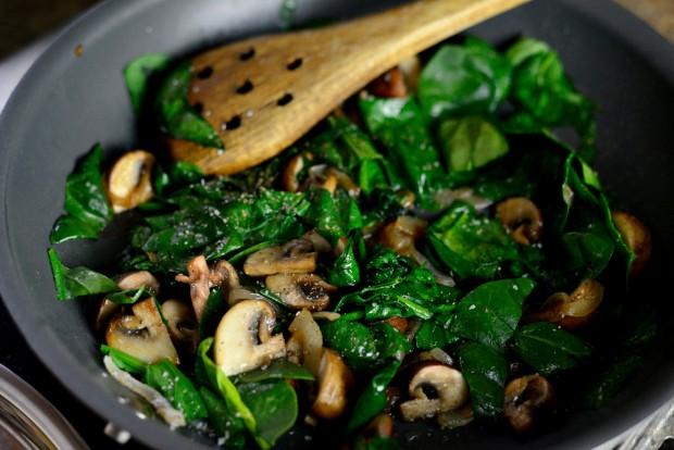 Spinach & Mushroom Ricotta Frittata l SimplyScratch.com (17)