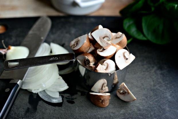 Spinach & Mushroom Ricotta Frittata l SimplyScratch.com (4)