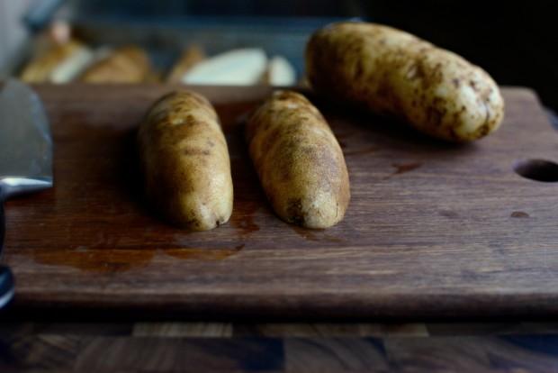 Black Pepper + Parmesan Frico Potato Wedges l SimplyScratch.com (2)