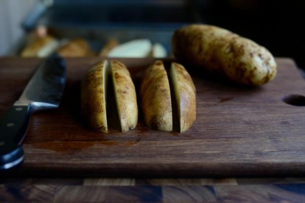 Black Pepper + Parmesan Frico Potato Wedges l SimplyScratch.com (3)