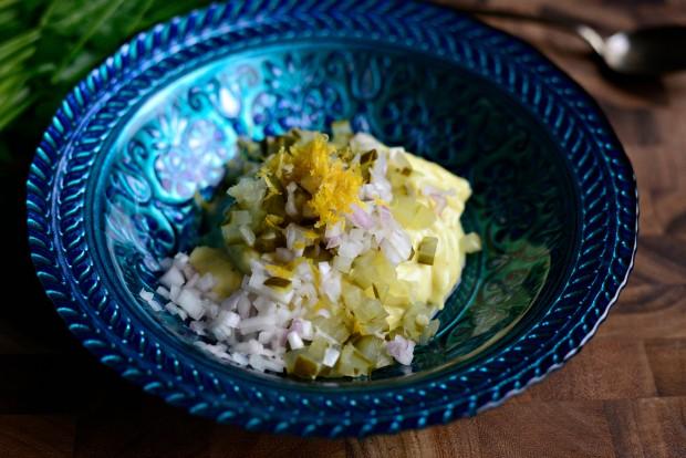 Broiled Cajun Tilapia + Lemon Terragon Tartar Sauce l SimplyScratch.com (3)