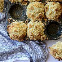 Cream Cheese Streusel Muffins