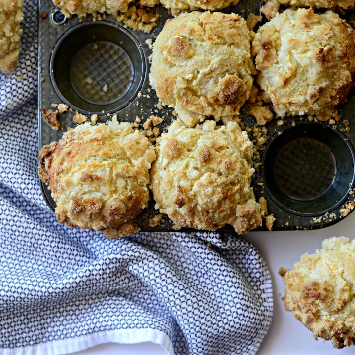 Cream Cheese Streusel Muffins