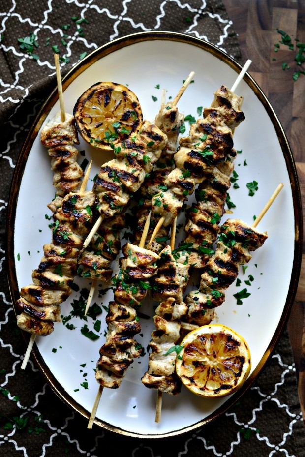 Grilled Chicken Shawarma Kebabs l SimplyScratch.com (21)