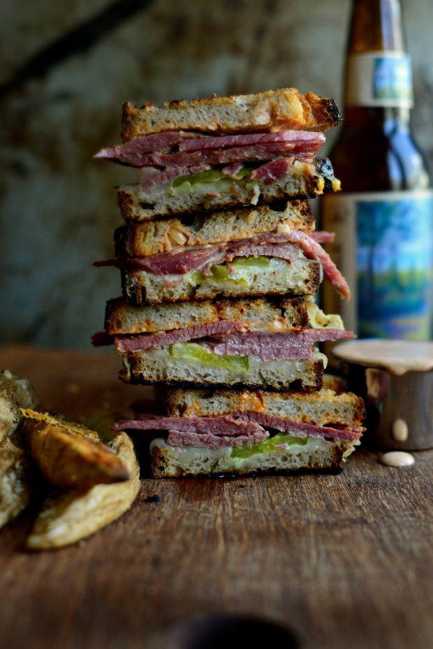 Corned Beef Sandwich l Recipes to Make On St. Patrick's Day