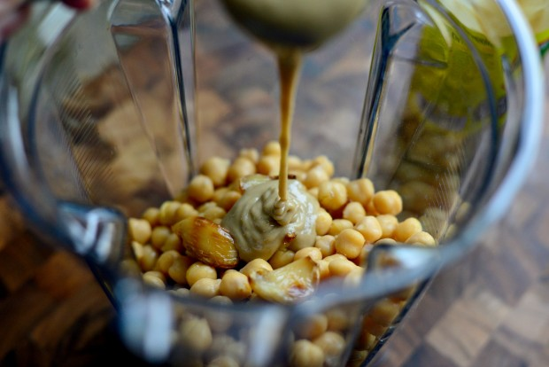 Za'atar + Roasted Garlic Hummus l SimplyScratch.com (8)