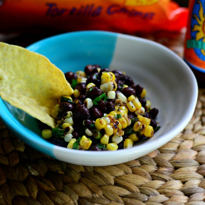 Grilled Corn Black Bean Salad