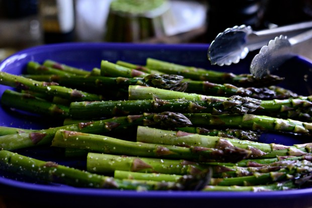 Grilled Asparagus with Balsamic Honey-Dijon Dressing l SimplyScratch.com (16)