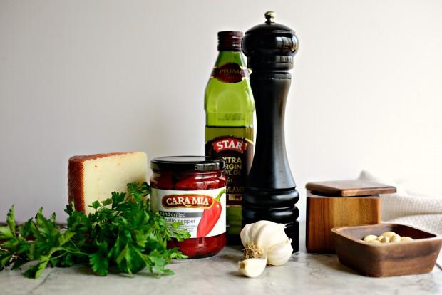 Grilled Steak with Piquillo Pepper Pesto l SimplyScratch.com (1)