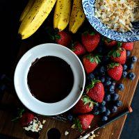 Simple Chocolate Fondue