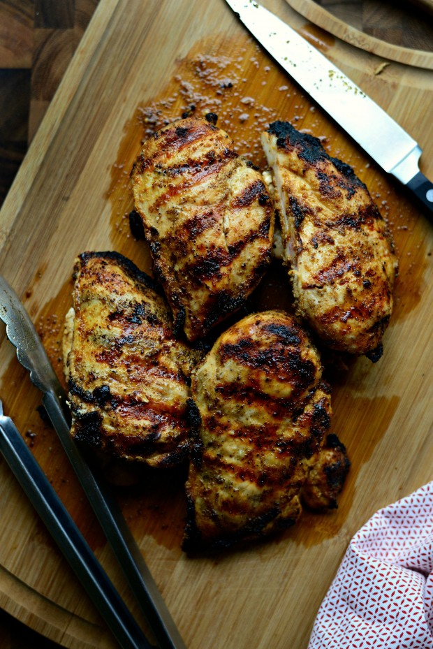 Chipotle Cumin Grilled Chicken l SimplyScratch.com