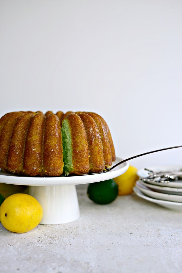 Lemon Lime Bundt Cake l SimplyScratch.com