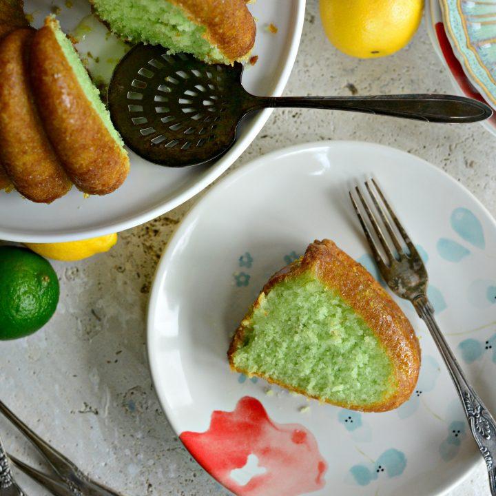 Lemon Lime Bundt Cake