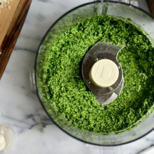 Fresh Spinach Pesto l SimplyScratch.com  (5)