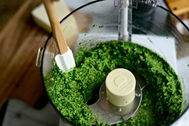 Fresh Spinach Pesto l SimplyScratch.com (6)