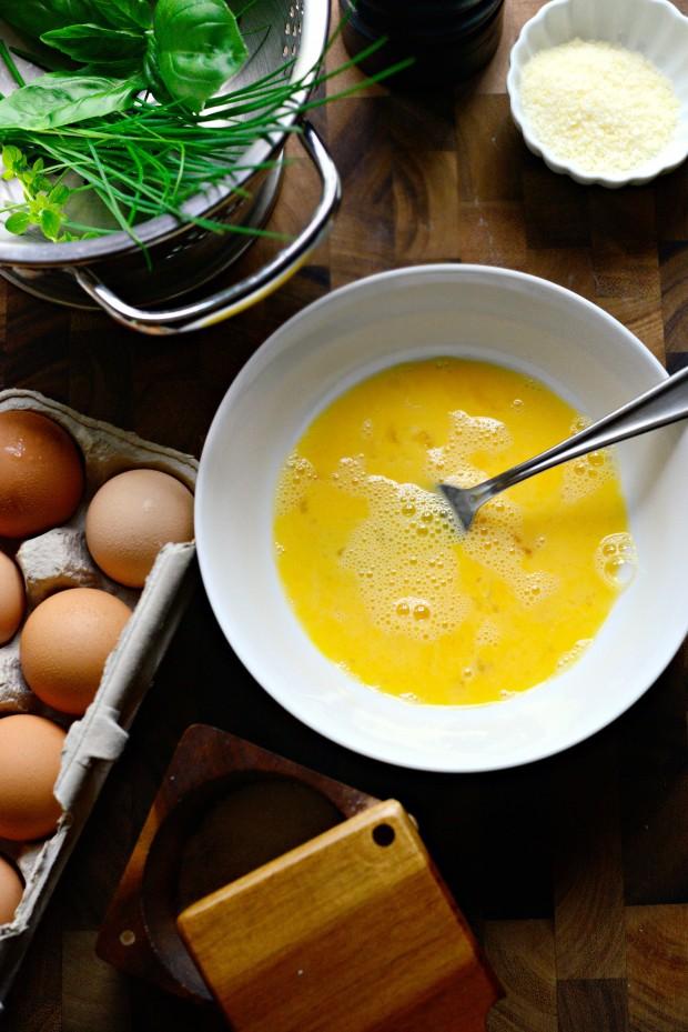Parmesan Herb Omelette l SimplyScratch.com (2)