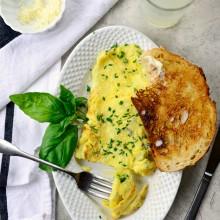 Parmesan Herb Omelette l SimplyScratch.com  (23)
