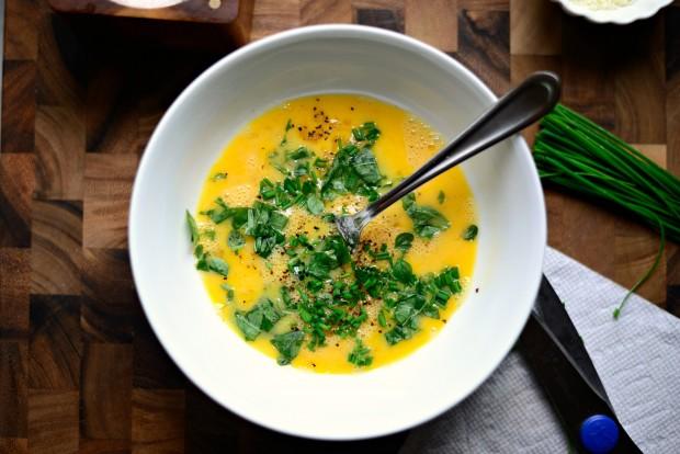 Parmesan Herb Omelette l SimplyScratch.com (8)