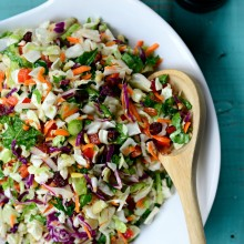 Rainbow Crunch Salad l SimplyScratch.com  (14)