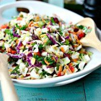 Rainbow Crunch Salad