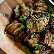 Grilled Za'atar Chicken Thighs l SimplyScratch.com  (16)