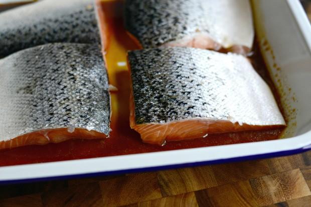 Honey Glazed Salmon + Fresh Mango Salsa (3)