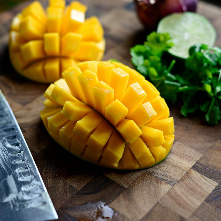 How To Dice Up A Mango