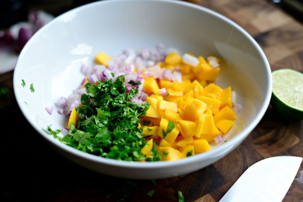 Honey Glazed Salmon + Fresh Mango Salsa (5)