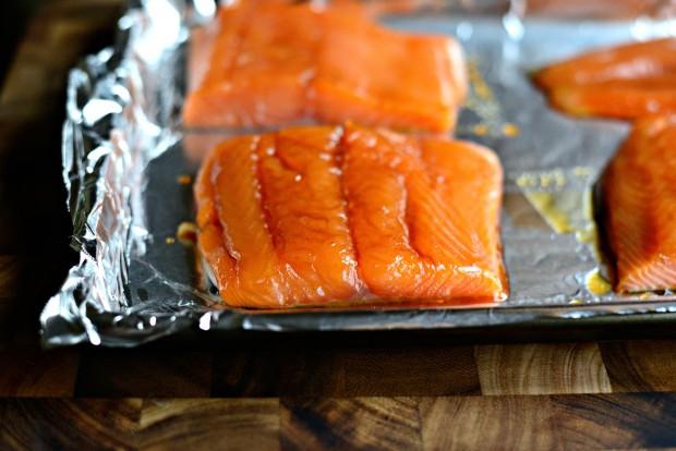 Honey Glazed Salmon + Fresh Mango Salsa (8)