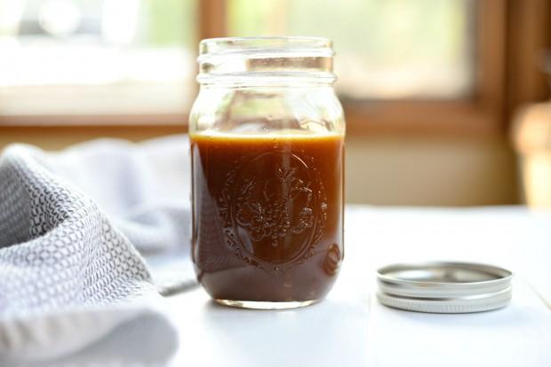 Homemade Caramel Sauce l SimplyScratch.com (20)