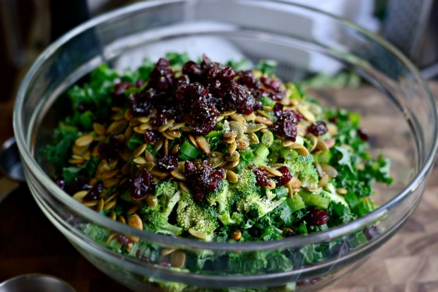 Kale + Brussels Sprout Chopped Salad l SimplyScratch.com (10)