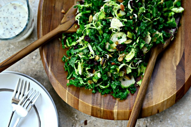 Kale + Brussels Sprout Chopped Salad l SimplyScratch.com (18)