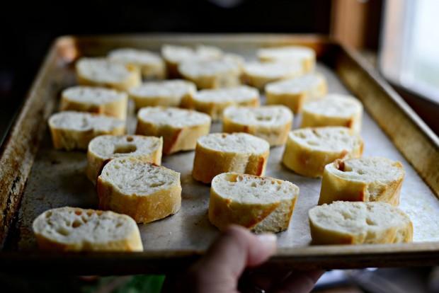 Peach, Prosciutto + Goat Cheese Crostini l SimplyScratch.com (3)