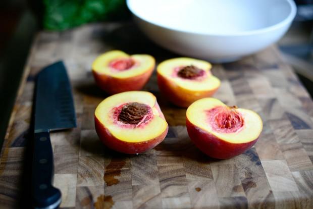 Peach, Prosciutto + Goat Cheese Crostini l SimplyScratch.com (5)