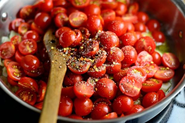 Perciatelli + a 10-minute Fresh Cherry Tomato Sauce (16)
