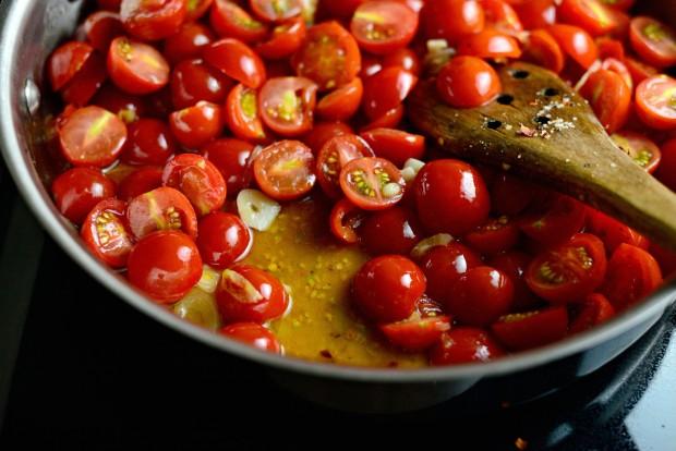 Perciatelli + a 10-minute Fresh Cherry Tomato Sauce (18)