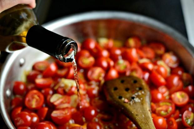 Perciatelli + a 10-minute Fresh Cherry Tomato Sauce (19)