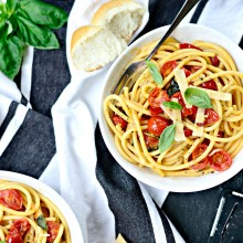 Perciatelli + a 10-minute Fresh Cherry Tomato Sauce (31)