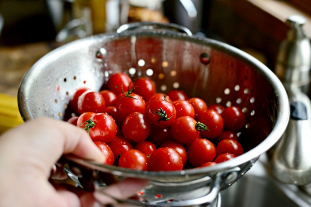 Perciatelli + a 10-minute Fresh Cherry Tomato Sauce (5)