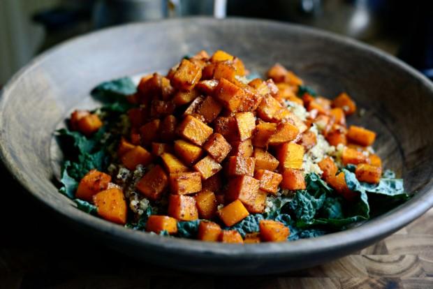 Warn Butternut, Kale + Quinoa Salad l SimplyScratch.com (11)