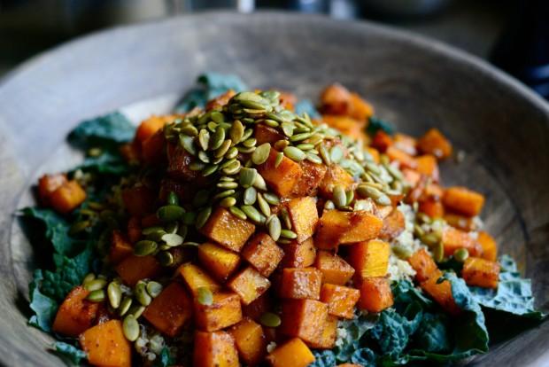 Warn Butternut, Kale + Quinoa Salad l SimplyScratch.com (12)