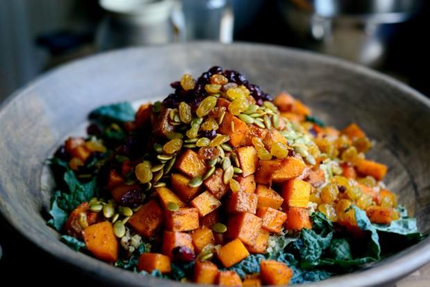 Warn Butternut, Kale + Quinoa Salad l SimplyScratch.com (13)