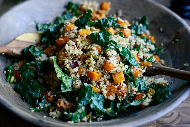 Warn Butternut, Kale + Quinoa Salad l SimplyScratch.com (14)