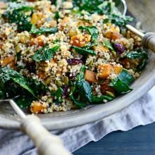 Warn Butternut, Kale + Quinoa Salad l SimplyScratch.com  (19)