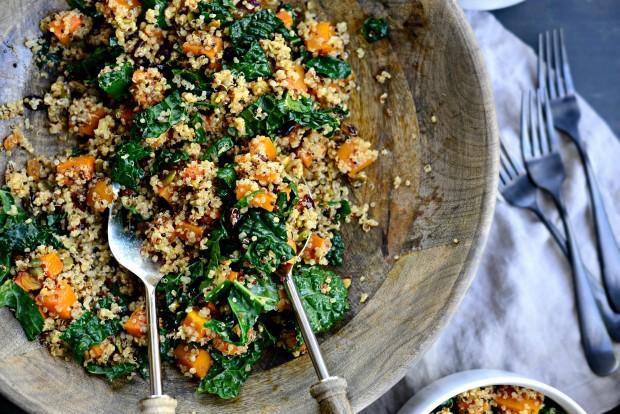 Warn Butternut, Kale + Quinoa Salad l SimplyScratch.com (22)